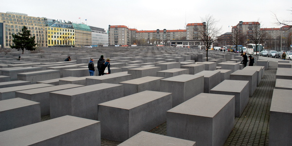 O Memorial do Holocausto em Berlim