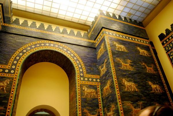 Porta de Ishtar no Pergamon Museum em Berlim