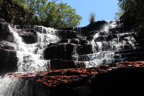 Vista da Cachoeira do Lajeado no Jalapão