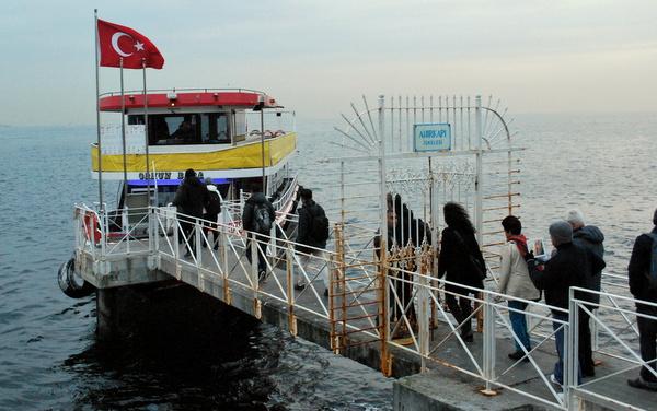 Ponto de embarque | Cruzeiro no Estreito de Bósforo