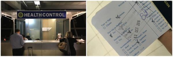 Health Control | Aeroporto de Bangkok