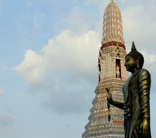 Torre do Templo Wat Arun em Bangkok 2