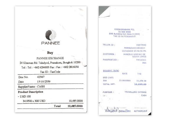 Bangkok | Câmbio de dólares no Aeroporto e na Khao San Road