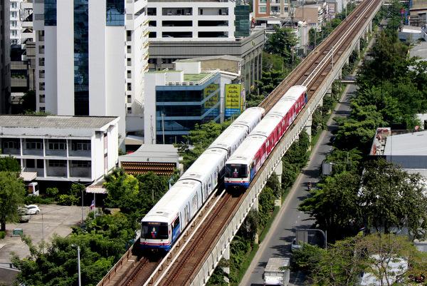 SkyTrain em Bangkok