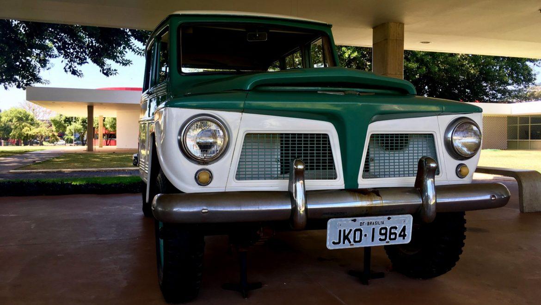 A Rural Willys que transportou JK em sua última visita a Brasília