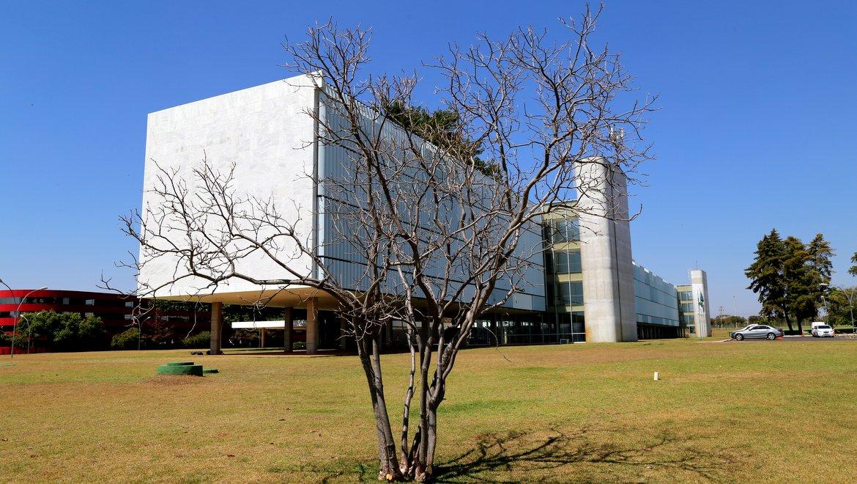 Brasilia Palace   Visto do lado de fora