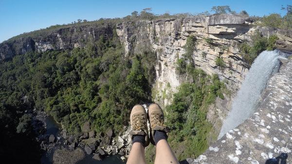 Por cima da Cachoeira São Domingos | Caiapônia
