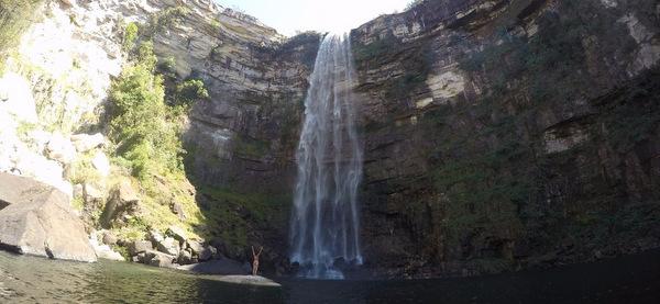 Cachoeira São Domingos por baixo