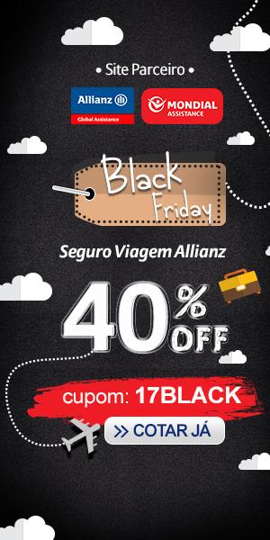 Seguro Viagem com 40% de desconto - Cupom de Desconto da Black Friday