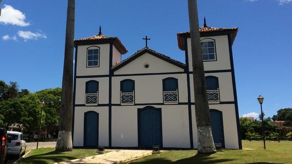 Igreja do Bonfim em Pirenópolis