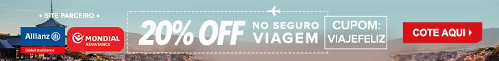 Cupom de Desconto | Seguro Viagem com 20% de desconto