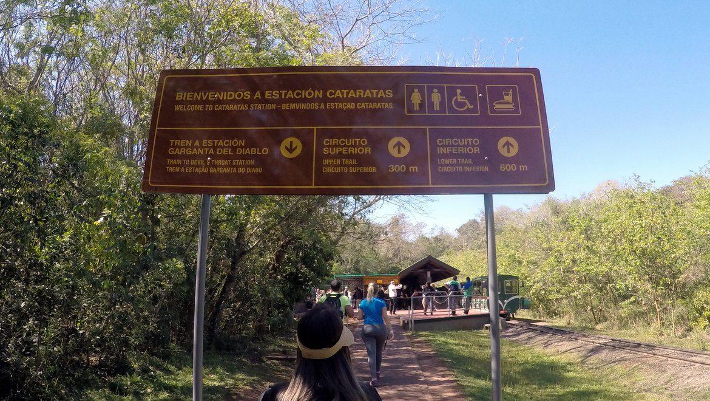 Cataratas do Iguacu - Entrada do Parque - Lado Argentino